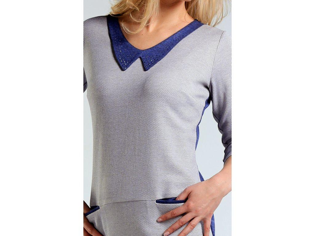 4500065f3b7 Úpletové šaty s rukávem - Noel boutique
