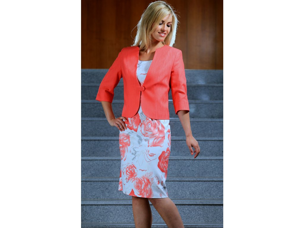 Šaty s bolerkem pro svatební matku - Noel boutique cd21eb6058