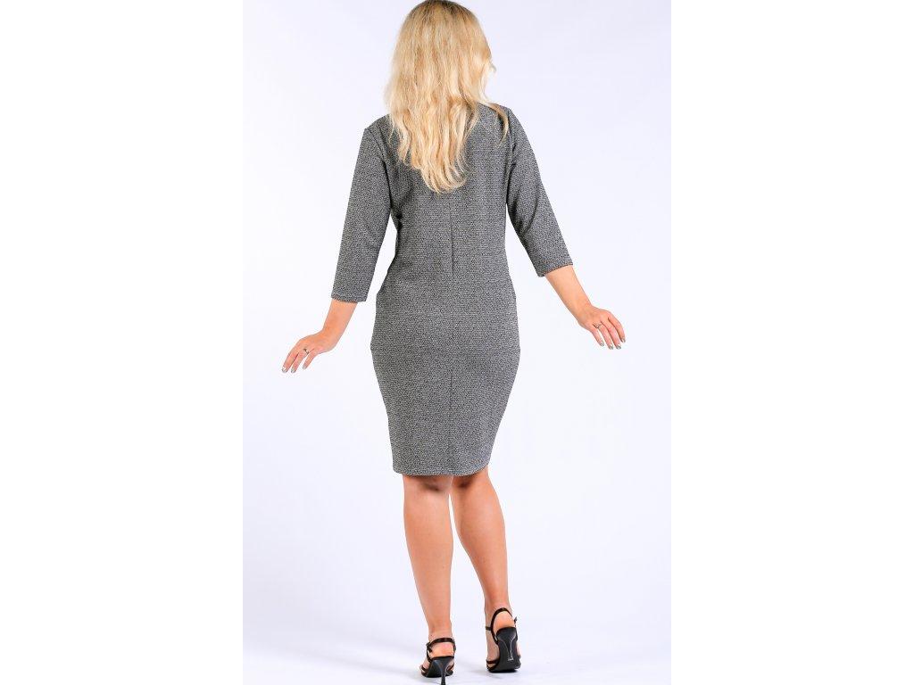 Dámské úpletové šaty s lemováním Dámské úpletové šaty s lemováním ... 53cfcbd06b8