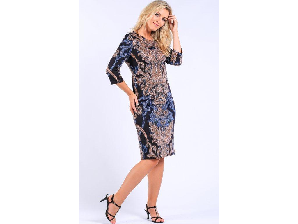 7db76729cdf Dámské úpletové šaty s rukávem - Noel boutique