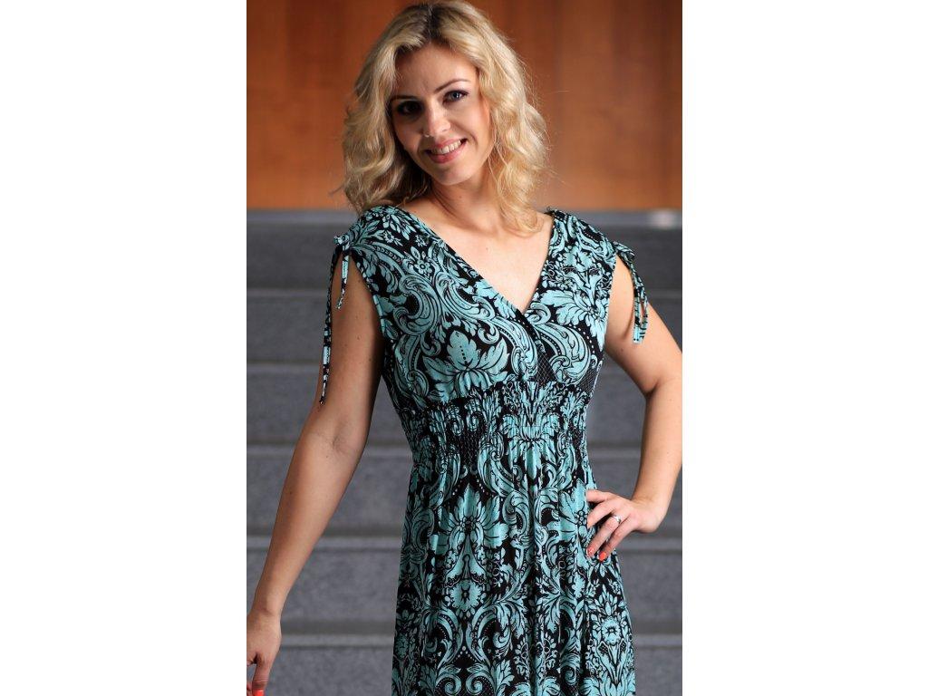 036cb4699b47 Noel Dámské Šaty Zelené Boutique Letní Dlouhé 0OPkZ8nwNX