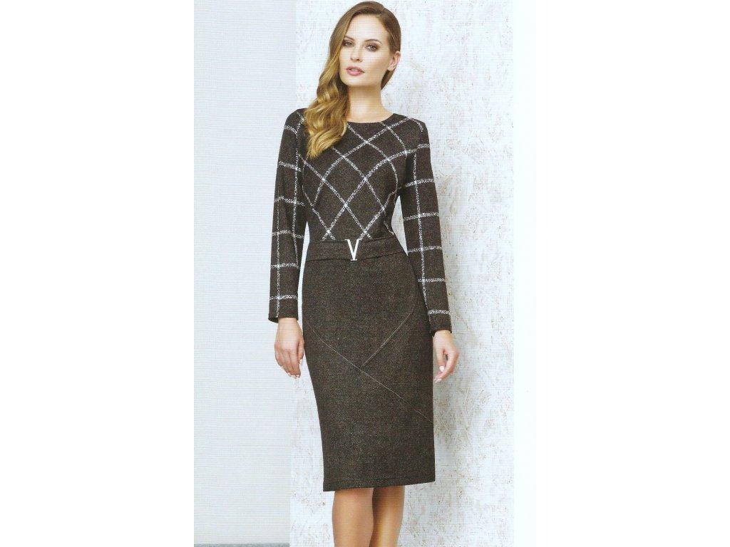 Dámské zeštíhlující úpletové šaty - Noel boutique fe24c15b49d