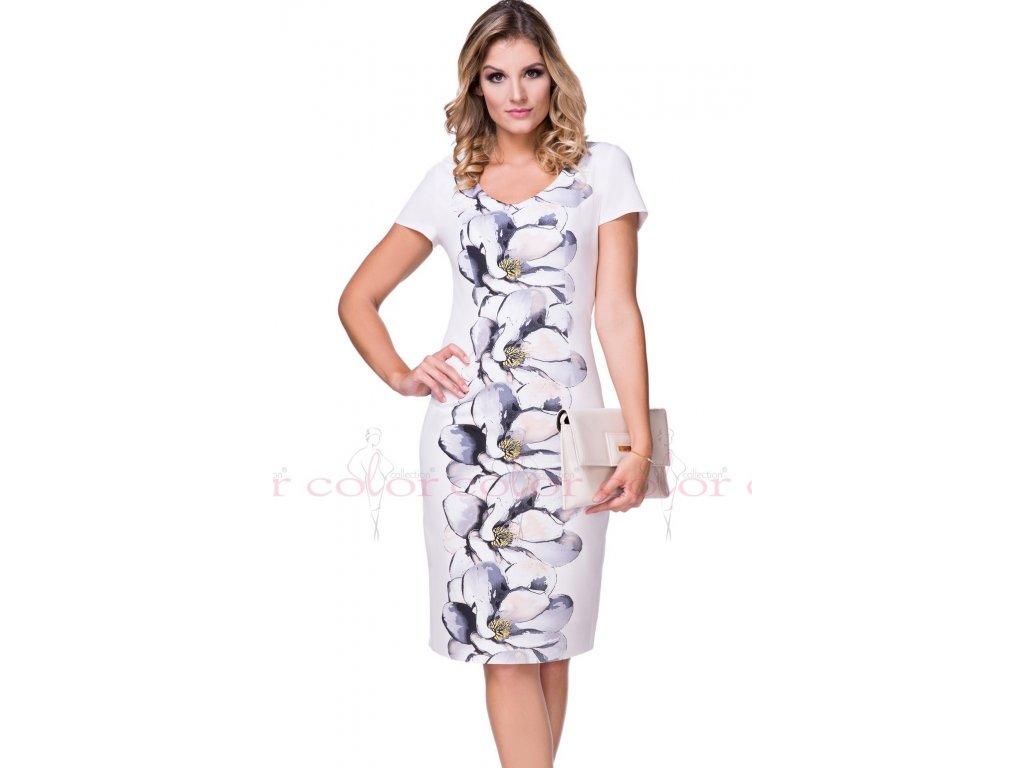0cd48e60a02 Letní pouzdrové šaty v pastelových barvách. Velikost 40 - 50. Kód L228