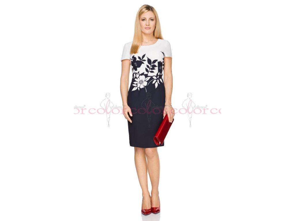 Dámské šaty s krátkým rukávem i pro plnoštíhlé. Velkost 40 - 50. Kód L226 a86f0698ad