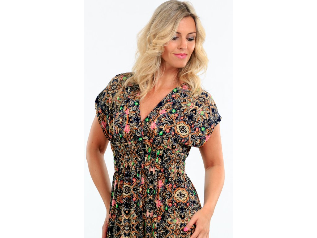 Dlouhé dámské šaty i pro plnoštíhlé Dlouhé dámské šaty i pro plnoštíhlé ... d84498b5b4