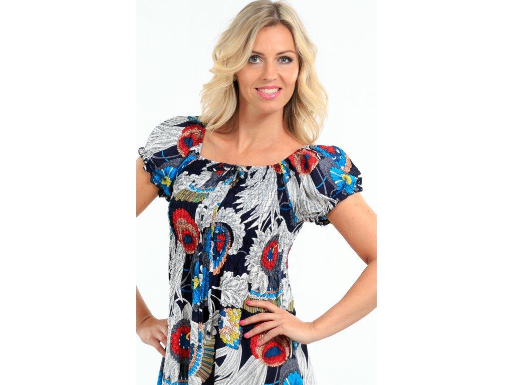 701e606f8ec7 Dlouhé dámské letní šaty barevné Dlouhé dámské letní šaty barevné ...