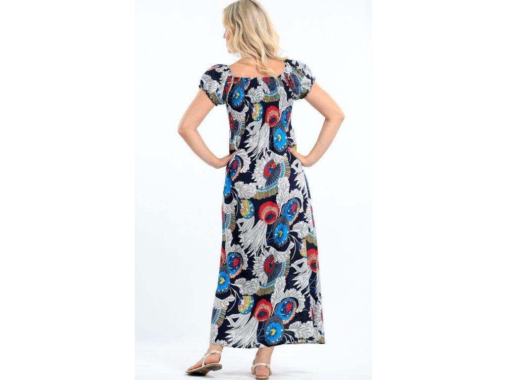 967b4fa1a0c3 Dlouhé dámské letní šaty barevné - Noel boutique