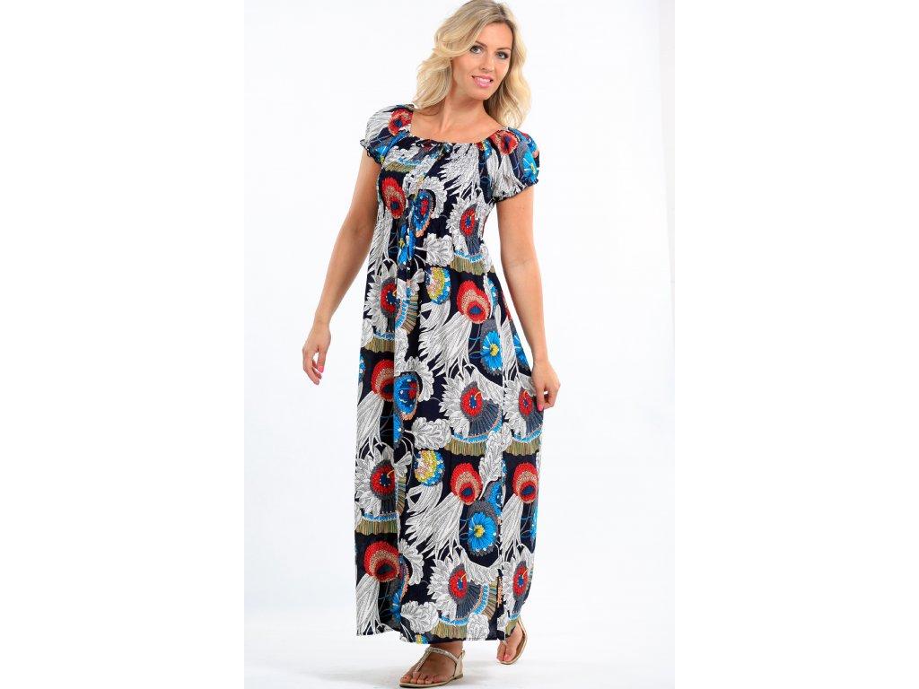 8ee405b8a Dlouhé dámské letní šaty barevné - Noel boutique