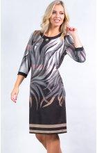 Elegantní úpletové šaty i pro plnoštíhlé