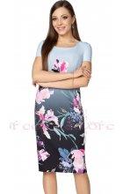 Dámské letní šaty s barevnými květy