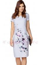 Zeštíhlující dámské pouzdrové šaty