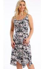 Dámské letní šaty s cípatou sukní