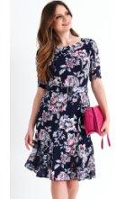 Letní společenské šaty pro plnoštíhlé
