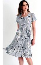 Dámské letní šaty s krátkými rukávy