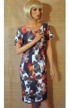 Letní pouzdrové šaty