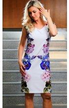 Letní bílé šaty
