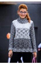 Dámský svetr s rolákem