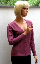 Dámský svetr na knoflíčky