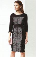 Dámské černé šaty do společnosti