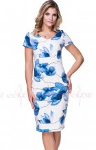 Letní dámské bílé šaty