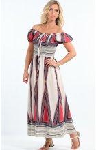 Dlouhé letní bavlněné šaty