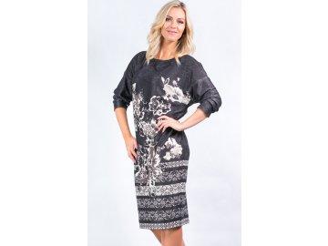 Dámské šaty s kimono rukávem A722