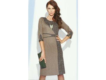 Elegantní zeštíhlující šaty