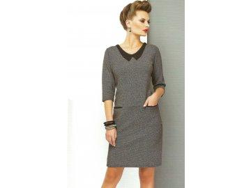 Dámské šaty s límečkem A468