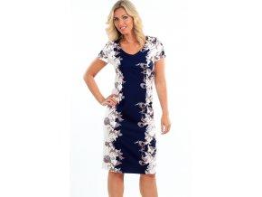 Zeštíhlující dámské letní šaty