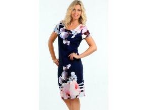 Letní dámské pouzdrové šaty