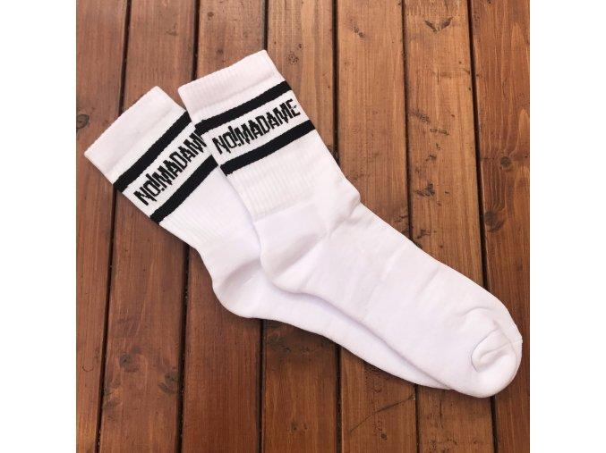 Ponožky Basic Socks White  Ponožky