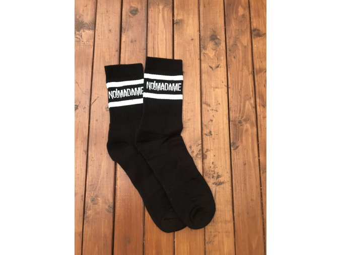 Ponožky Basic Socks Black  Ponožky