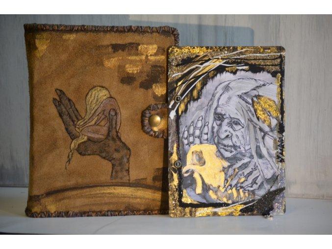 La loba - vlčí žena - zápisník A5/160  + karta