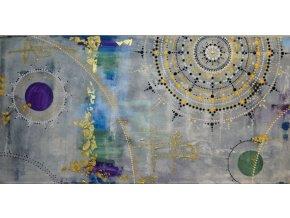 HLÍDAČ MAJÁKU NA KONCI SVĚTA 120 x 60 - Akryl na plátně