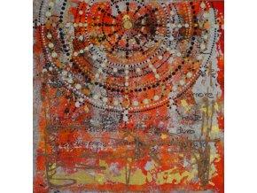 Nejvyšší moudrost, první láska pravá 50 x 50 - Akryl na plátně