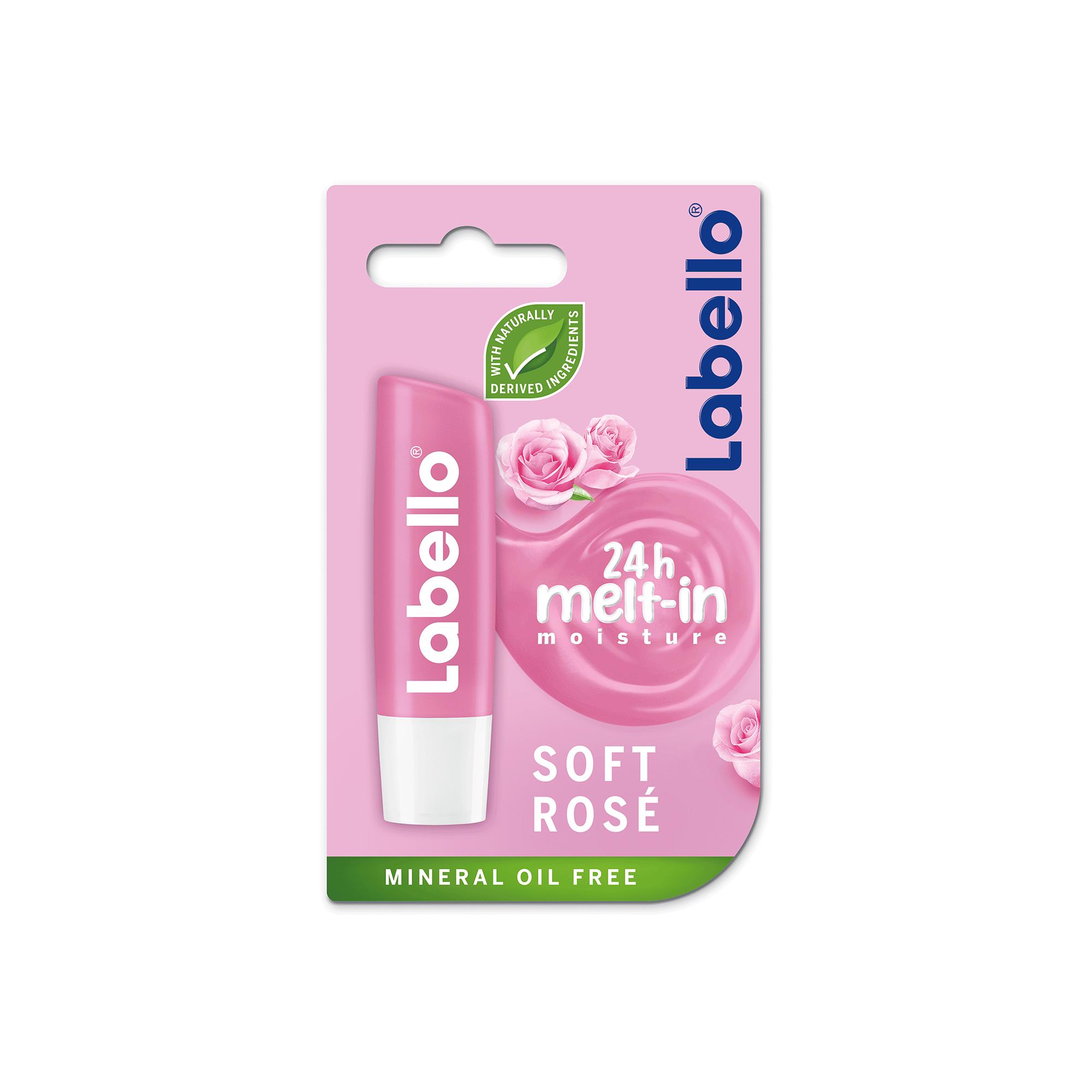 LABELLO soft rosé - balzám na rty