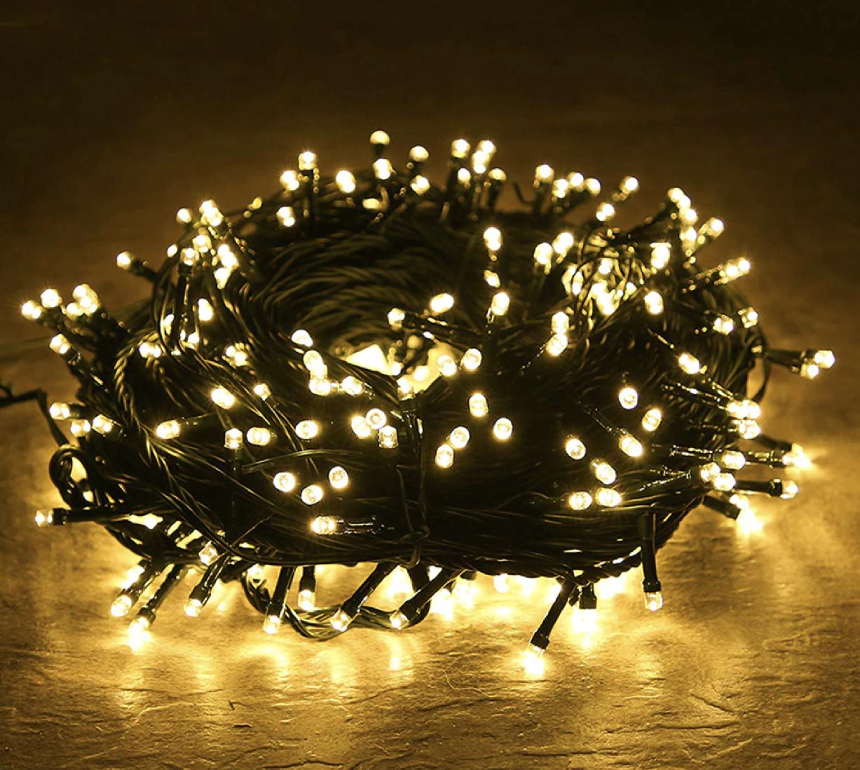 Venkovní Vánoční řetězy - LED osvětlení 10 metr Barva: bílá teplá