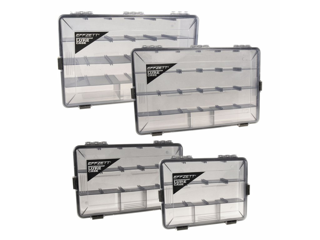 Krabička EFFZETT® WATERPROOF LURE CASES