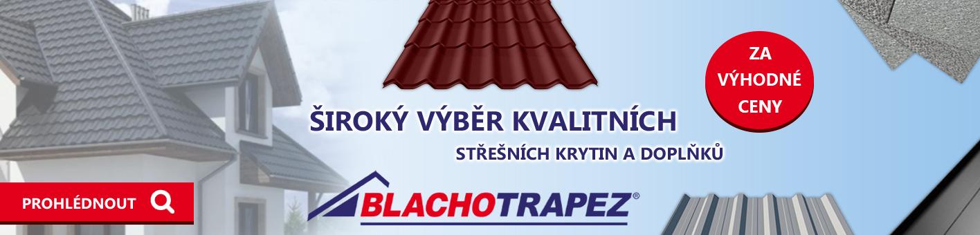 Blachotrapez kvalitní výrobce střešní krytiny