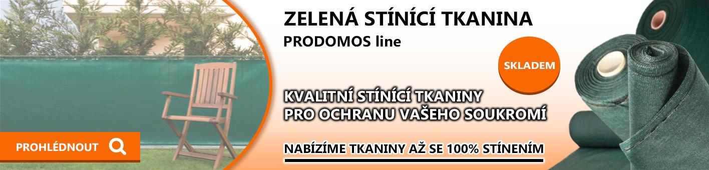 Stínící tkanina PRODOMOS Line