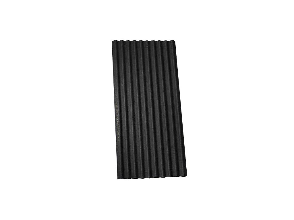 Bitumenová deska vlnitá ONDULINE Classic 200x95cm černá
