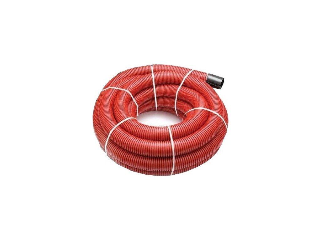 Chránička kabelu 125 mm roura trubka 25 m s průvlačným provázkem