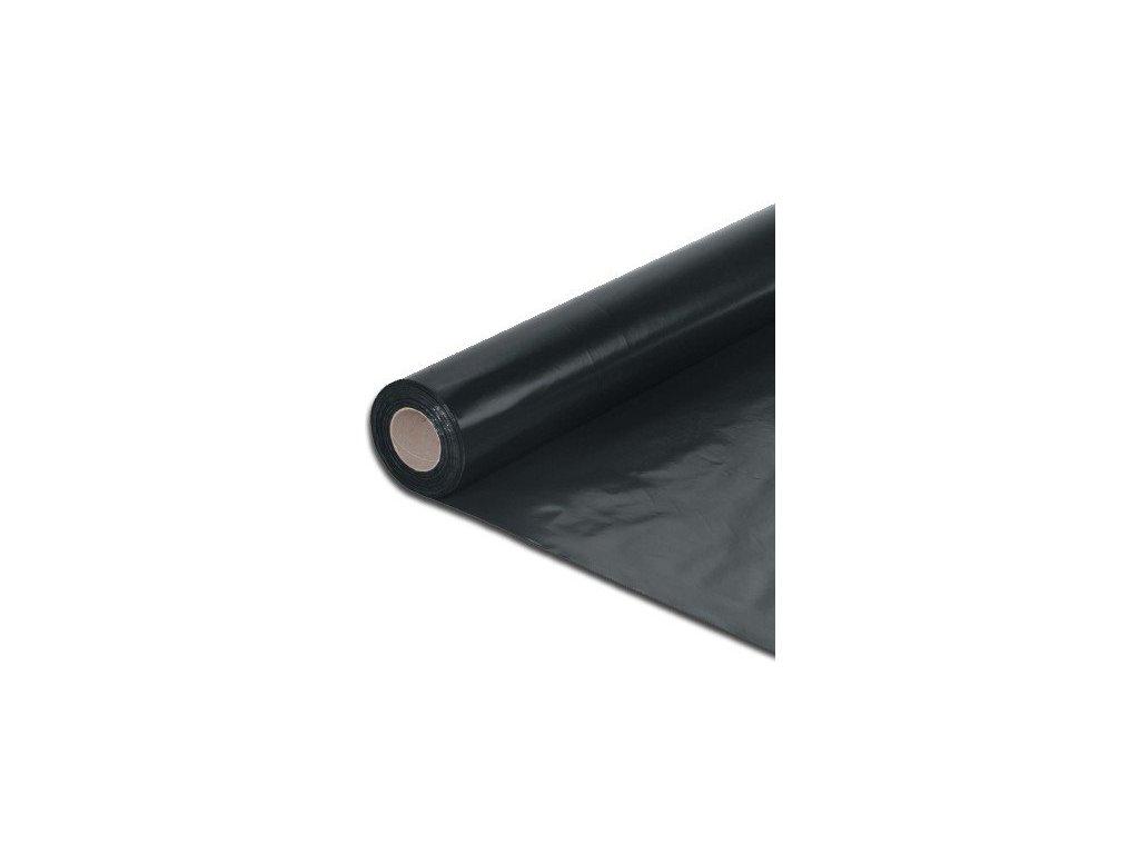 Separační fólie stavební 4 x 25 m LDPE polohadice polorukáv 100 mikronů černá