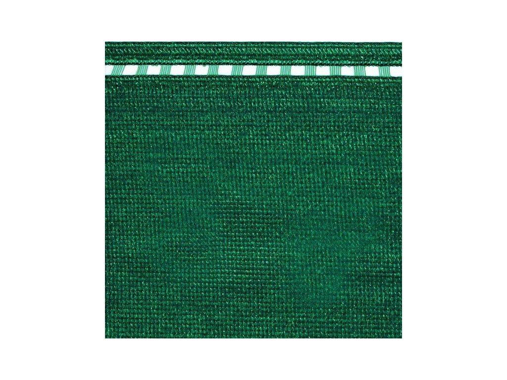 Stínící tkanina na plot 100% síťka 1,5 x 5 m COIMBRA zelená (230g/m2)
