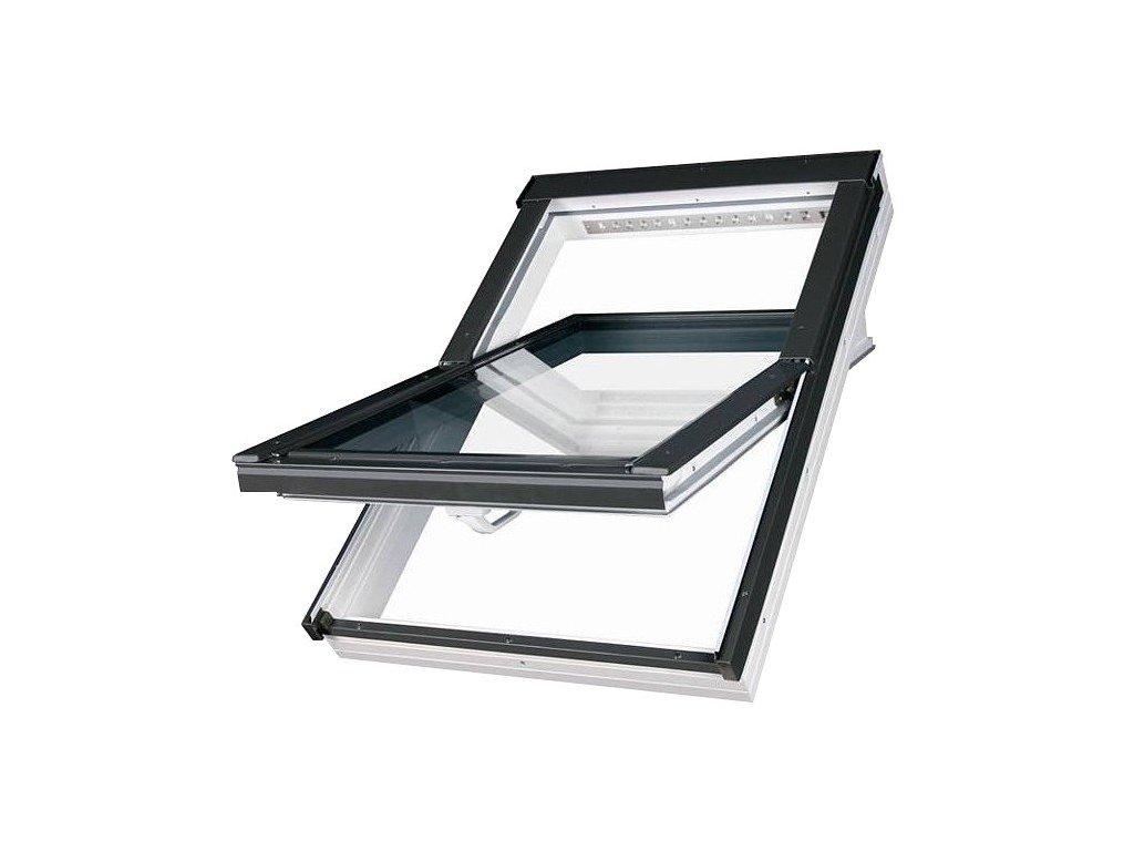 2707 fakro stresni okno plastove 78 x 160 cm ptp v u3 dvojsklo