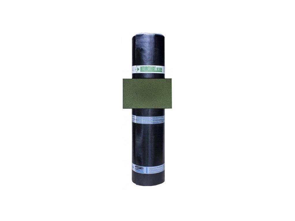 Střešní asfaltový pás BITUBITAGIT zelená 3,5mm DEHTOCHEMA
