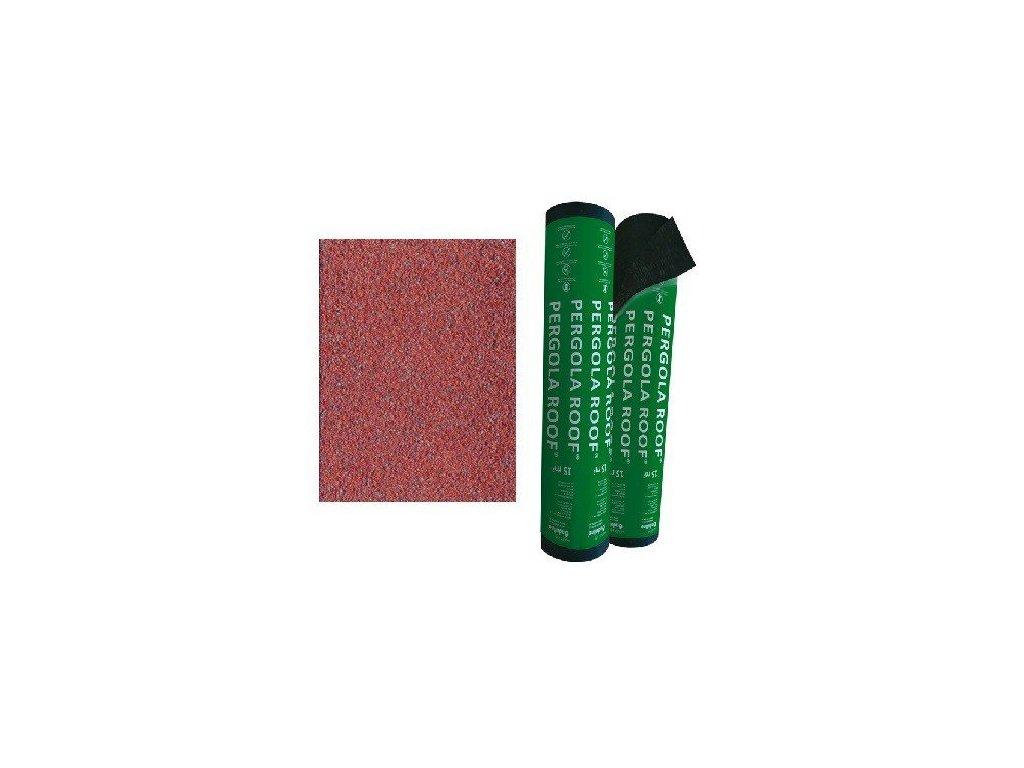 Asfaltový pás PERGOLA ROOF modifikovaný červený ONDULINE 15m2