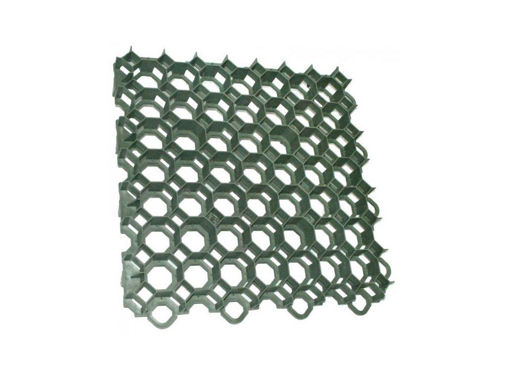 Stella Green Plastová dlažba 50 x 50 x 6,4cm 160t zatravňovací tvárnice