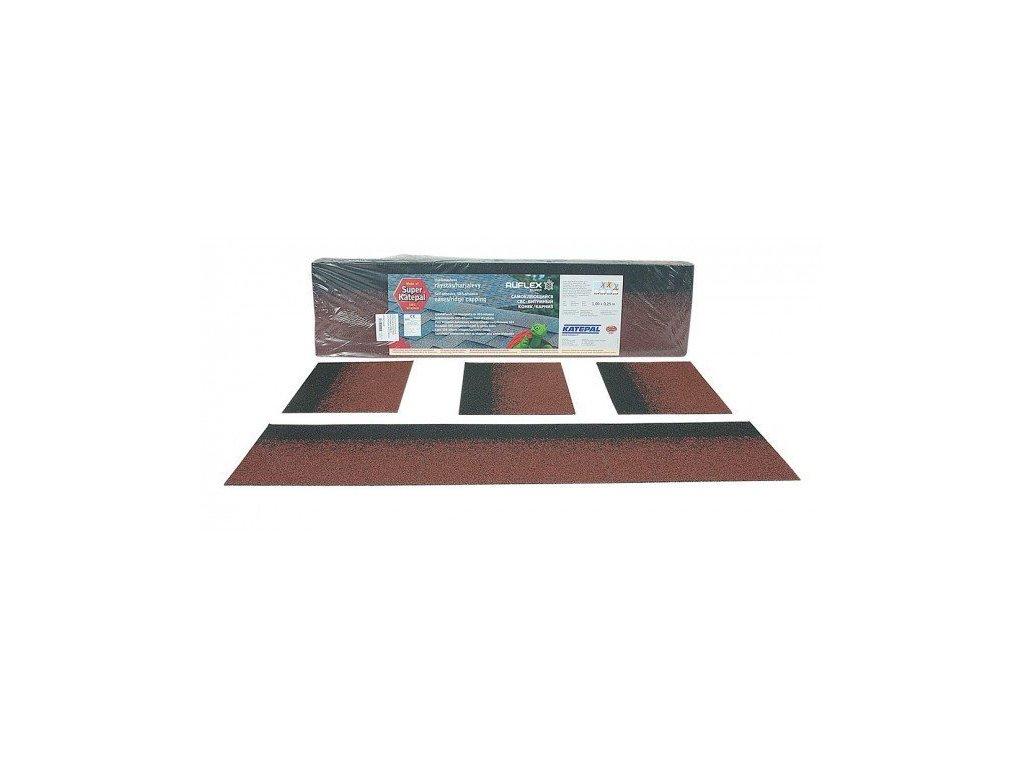 Hřebenový pás okapový pro střešní šindel (bal) KATEPAL