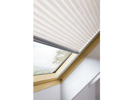 10501 plisova roleta aps i 114 x 118 cm na stresni okno